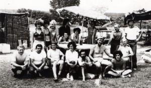 ekipa arheologa na gradini oko 1978 (1)