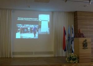 """Promocija knjige """"Jevreji u Šidu"""" u Gradskoj kući u Haifi"""