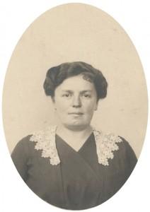 Persida Šumanović (fotografija u vlasništvu Mirjane Bakočević Nikolić)