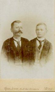 Andrija i Isidor Cankar, 1899. g.